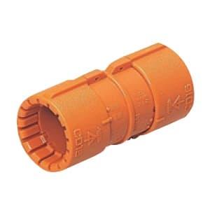 未来工業 カップリング CD管φ14用 Gタイプ オレンジ CDC-14G