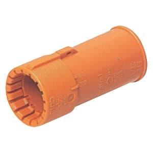未来工業 コンビネーションカップリング CD管φ14⇔VE管φ14接続用 Gタイプ オレンジ CDVE-14G