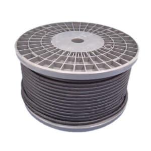 三陽電工 丸打ちビニルコード 交流照明用 100m巻 黒 マルウチコードSD284025クロ×100m