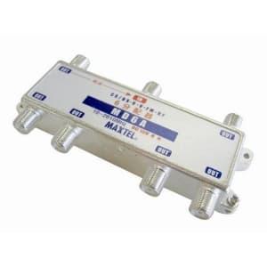 マックステル 【生産完了品】ダイキャスト6分配器 1端子電通 箱入 MD6A-H