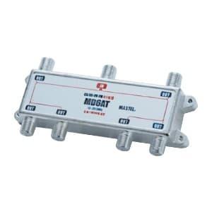 マックステル 【生産完了品】ダイキャスト6分配器 全電通 箱入 MD6AT-H