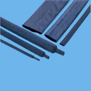 因幡電機 《ジャッピー》熱収縮チューブ 適用電線サイズ:φ4.8〜7.2mm 長さ:250mm 黒 20本入 JTC8.0-BK