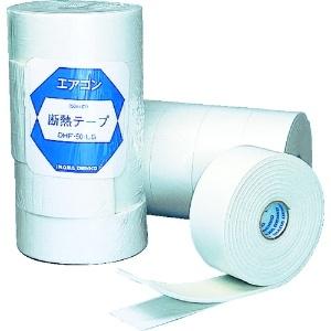 因幡電工 断熱粘着テープ 1巻 ライトグレイ DHF-50LG