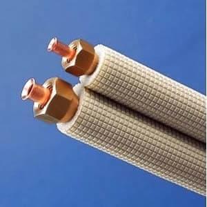 因幡電工 フレア配管セット 7m フレアナット付 配管部材なし 対応冷媒:2種 SPH-237-C