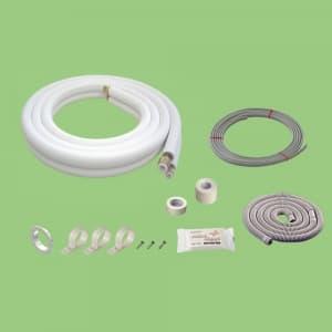 関東器材 配管セット 電線入り・部品入り 2分3分 3m 3P-203SP