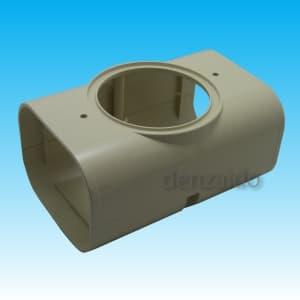 因幡電工 スリムダクトLD 分岐ジョイント LD-90用 壁面取り出し用 アイボリー LDJA-90-I
