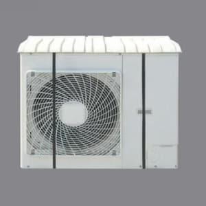 ジェフコム エアコン室外機用カバー 幅750〜800×奥行350×高さ80mm AL-CV-7580