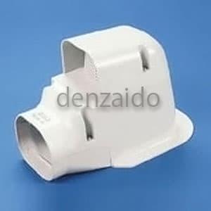 バクマ工業 ウォールコーナー 換気式エアコン用 壁面取り出し用 アイボリー 《スマートダクト RDシリーズ》 RDWK-70-I