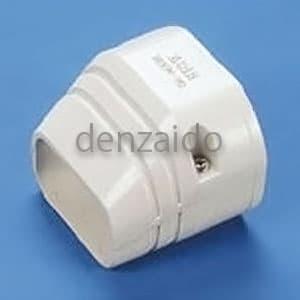 バクマ工業 端末カバー 機器接続部用 アイボリー 《スマートダクト RDシリーズ》 RDEN-70-I