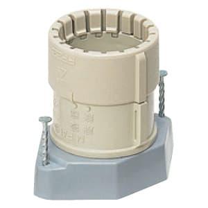 未来工業 仮枠ブッシング Gタイプ コンパクトタイプ 適合管:PF管14 コネクタネジのサイズ:呼び16用(G1/2) MFSHC-14GS