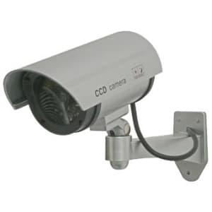 マザーツール 屋外設置型ダミーカメラ 壁面取付タイプ 疑似赤外線LED点灯 DC-027IR