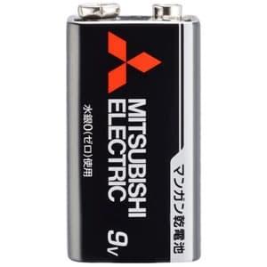 三菱 マンガン乾電池 黒 9V形 1本パック 6F22UD/1S