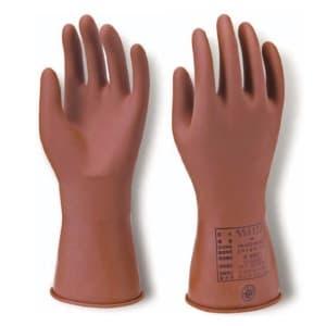 長谷川電機工業 直流低圧用ゴム手袋 Mサイズ YS-102-58-02