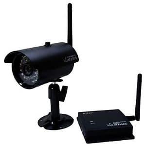 キャロットシステムズ 【生産完了品】無線カメラセット デジタル2.4GHz帯 防水・防塵タイプ IP66相当 天井・壁面取付 AT-2730WCS