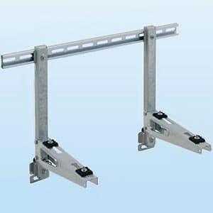 日晴金属 PCキャッチャー 壁面用 水平調整機構付 溶融亜鉛メッキ仕上げ 《goシリーズ》 PC-KJ30