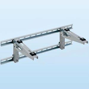 日晴金属 PCキャッチャー 壁面用ブラケットタイプ 水平調整機構付 溶融亜鉛メッキ仕上げ 《goシリーズ》 PC-BJ60