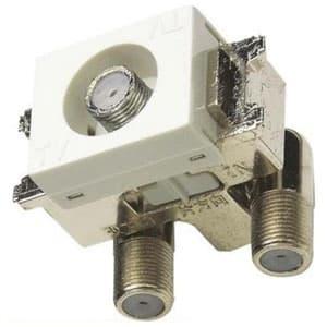 マスプロ 直列ユニット 1端子型 中継用 4K・8K衛星放送対応 上 り帯域カットフィルタースイッチ付 DWK10-SW-B