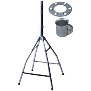 日本アンテナ 簡単取付屋根馬 45cm型衛星アンテナ取付可 適合マスト径φ32mm以下 φ38mmマスト用支線止め金具付 NBS-100ZR