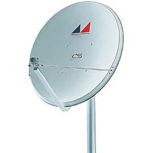 日本アンテナ 【生産完了品】CSアンテナ 75cm型 コンバーターユニット無し CS-S753K