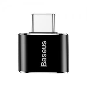 電材堂 USBハブアダプター USB〜Type-C ブラック DCATOTG01
