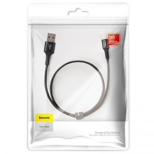 電材堂 【生産完了品】USBケーブル 急速充電タイプ USB〜Type-C 長さ0.5m ブラック DCATGHA01