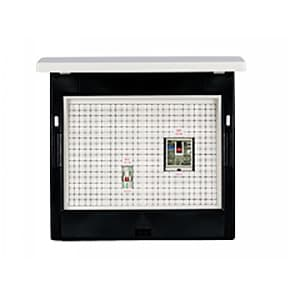 河村電器産業 enステーション TB+電気温水器(エコキュート)+蓄熱暖房器用分電盤 EZ2C フタ付タイプ EZ2C3-42