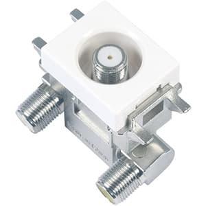 DXアンテナ 小形直列ユニット中間用 通電仕様 2K・4K・8K対応 SU7CL2S