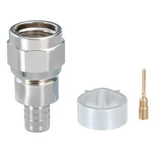 DXアンテナ F形接栓 S-5C-FB用 C15形 中心コンタクト付 2K・4K・8K対応 F5SP1