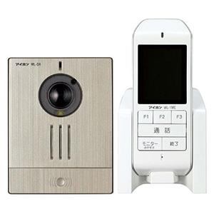 アイホン ワイヤレステレビドアホンセット AC電源アダプター式 モニター付親機+カメラ付玄関子機 WL-11