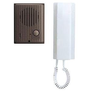 アイホン ワンタッチドアホンセット AC電源直結式 親機+玄関子機 IES-1AT/A