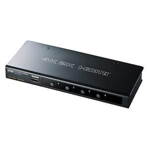 サンワサプライ 【生産完了品】HDMI切替器 4入力・1出力 4K2K対応 SW-UHD41H