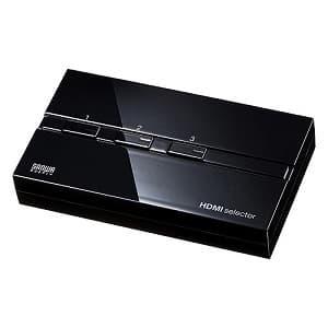 サンワサプライ 【生産完了品】HDMI切替器 3入力・1出力 完全手動切替タイプ 3D映像・フルHD対応 SW-HD31ML