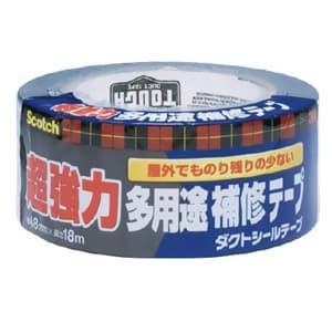 スリーエムジャパン 《スコッチ》 超強力多用途補修テープ 48mm×18m ダークグレー DUCT-NR18