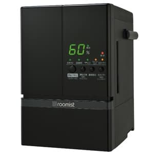三菱重工 【生産完了品】スチームファン蒸発式加湿器 《ルーミスト》 おもに10畳用 イオンフィルター搭載タイプ 加湿量:600ml/h 漆黒 SHE60ND(-K)