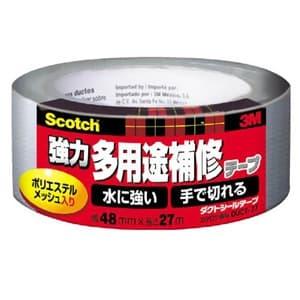 スリーエムジャパン 《スコッチ》 強力多用途補修テープ 48mm×27m シルバー DUCT-27