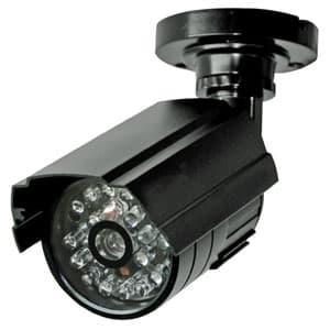 マザーツール 本格派ダミーカメラ 疑似(ダミー)赤外線LED搭載 壁面・天井取付タイプ DC-017IR