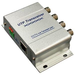 マザーツール 4チャンネル映像伝送装置 AHD信号対応 電源不要 MT-VB204