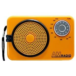 日本協能電子 【数量限定特価】AMラジオ 水電池単3形×2本・ストラップ付 NWP-AR