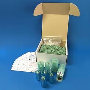 日本協能電子 水電池災害備蓄用セット 単3形 100本入 単1形・単2形サイズ変換アダプター×各4個付 NWP-100AD