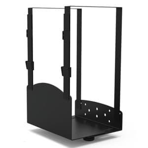 スタープラチナ PCホルダー TVタワースタンド用オプション MV601/IM601専用 W235×D220×H154mm スチール製 TVTSTOP600PH