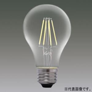 アイリスオーヤマ LEDフィラメント電球 クリアタイプ 一般電球60形相当 昼白色 E26口金 密閉形器具対応 LDA7N-G-FC