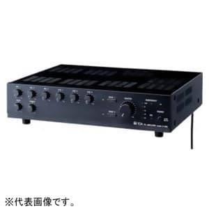 TOA PAアンプ 30W 2U 2局ゾーンセレクター付 呼び出し放送・BGM放送用 非常カット機能内蔵 A-1803