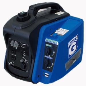 ニチネン ポータブル発電機 《G-cubic》 インバーター式 2WAYタイプ タンク容量3.0L カセットボンベ対応 KG-101