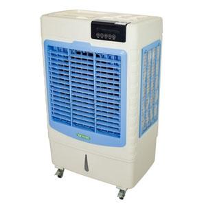 日動工業 気化式小型冷風機 《クールファン》 AC100V 三段階切替式 アイスボックス・リモコン付 CF-200I