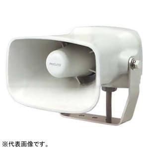 パトライト ホーン型電子音報知器 定格電圧DC12-24V 最大110dB 32音色内蔵(Aタイプ) 配線方式:キャブタイヤコード EHS-M1HA