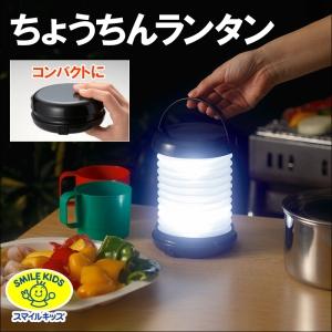 旭電機化成 ちょうちんランタン 電池式 白色LED×1灯 明るさ20lm 折りたたみ式 ALA-3405S