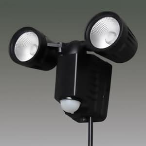アイリスオーヤマ LED防犯センサーライト 屋内・屋外兼用 2灯タイプ IP44 AC式 昼白色 LSL-ACTN-800D