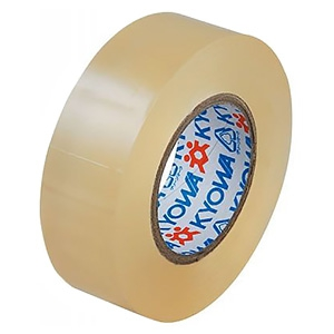 電材堂 【生産完了品】【ケース販売特価 10巻セット】ビニールテープ 19mm×10m クリア SF1910CDNZ_set