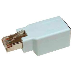 ジェフコム クロス変換アダプター LANケーブル用 LFNJJ-6EC