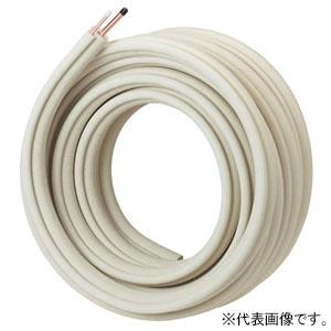 因幡電工 エアコン配管用被覆銅管 ペアコイル 保温材厚8×20mm 2分3分 長さ20m PC-2320-KHE